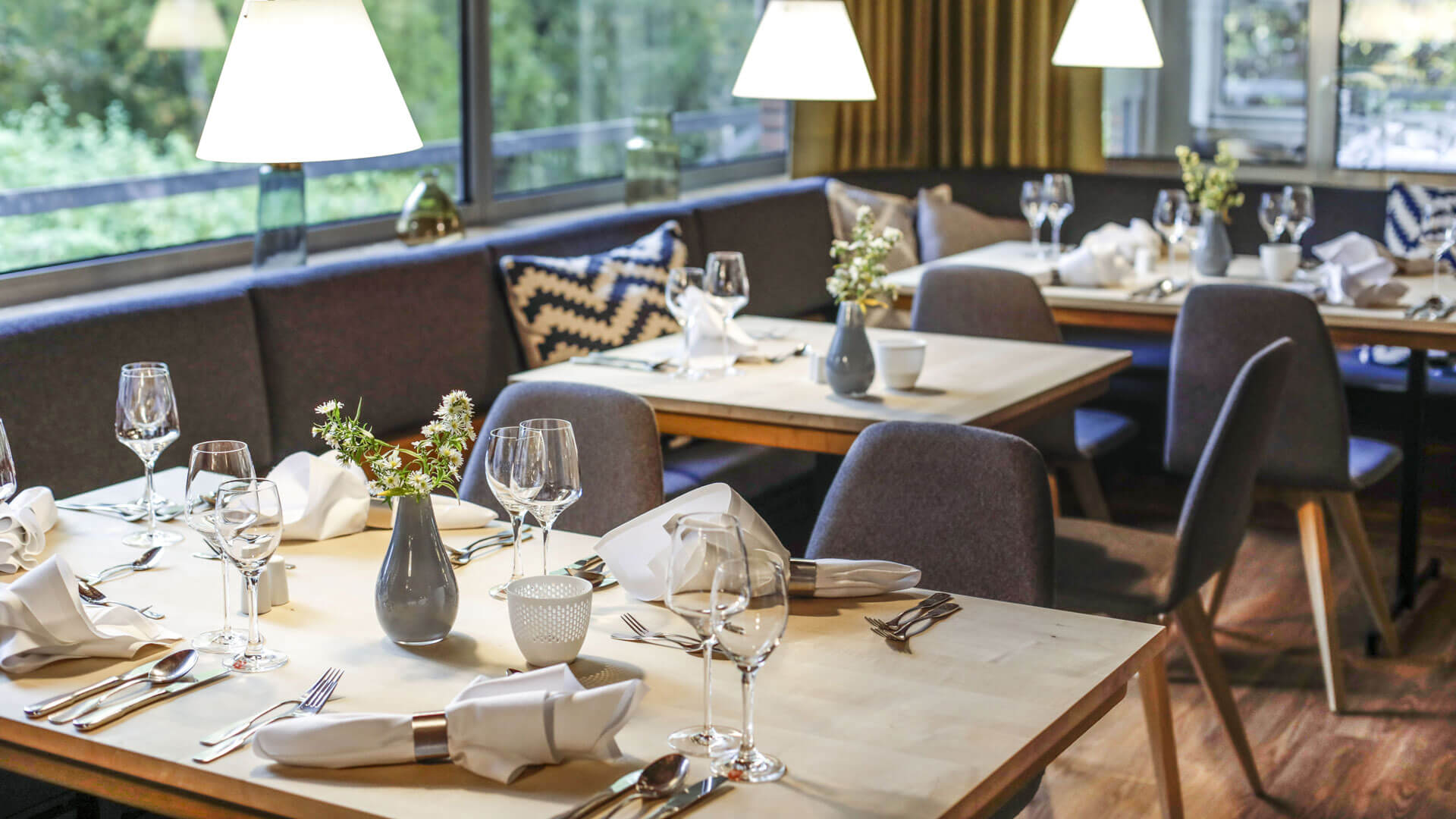 Comfortable and delicious at the restaurant schulze|s © Biohotel Sturm