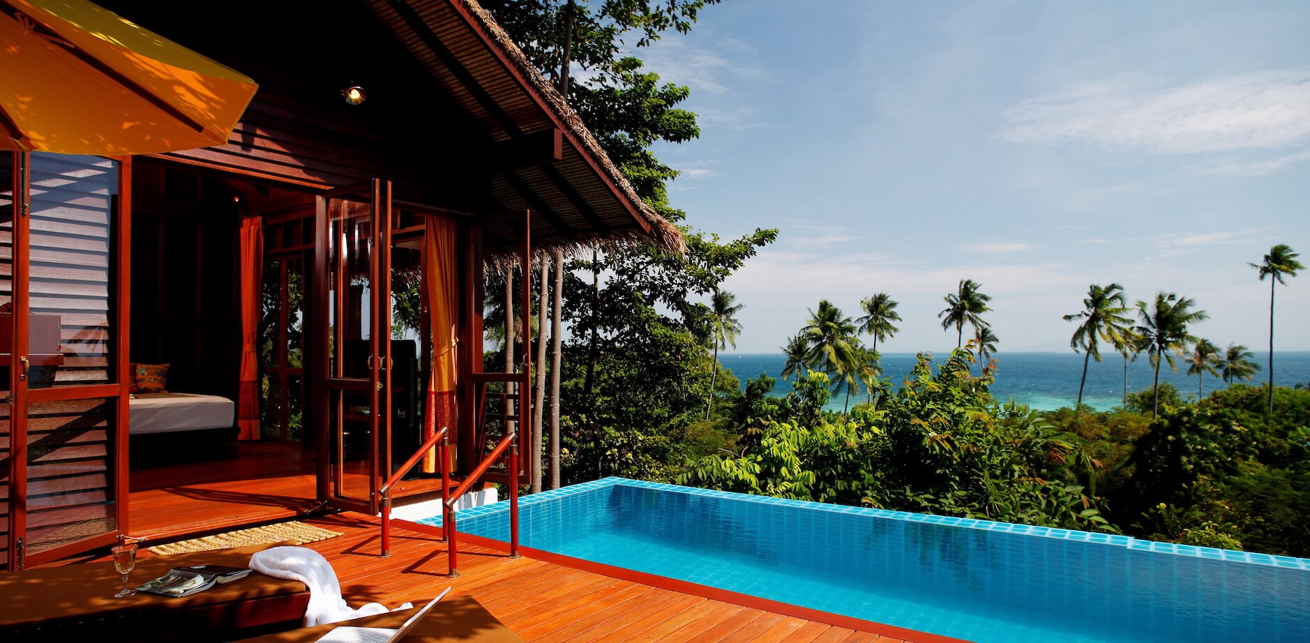 Eco luxurious pool villa at Zeavola Resort in Thailand
